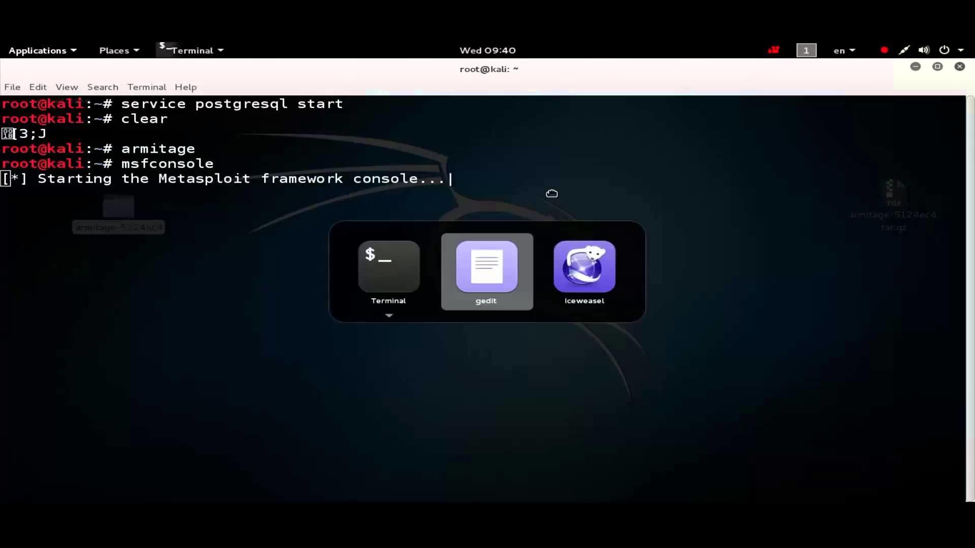 حل مشكلة الارميتاج في الكالي لينكس 2.0 | fix armitage on kali linux 2.0 –  YouTube