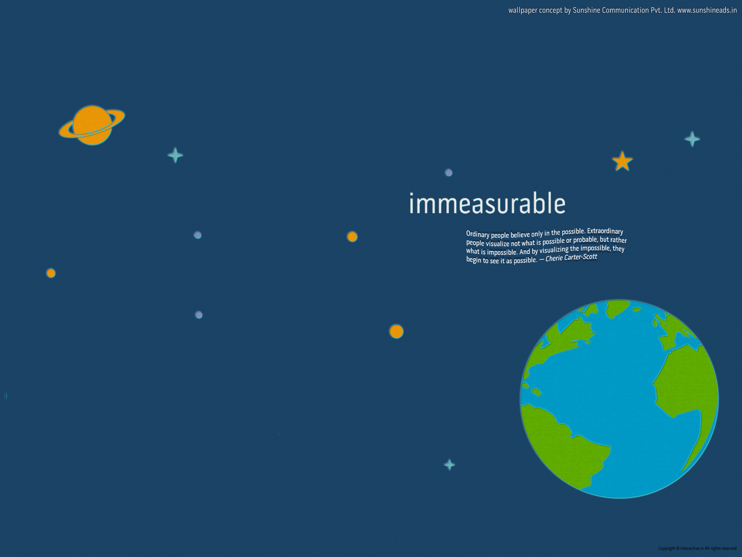 Immeasurable-inspirational wallpapers and stock photos