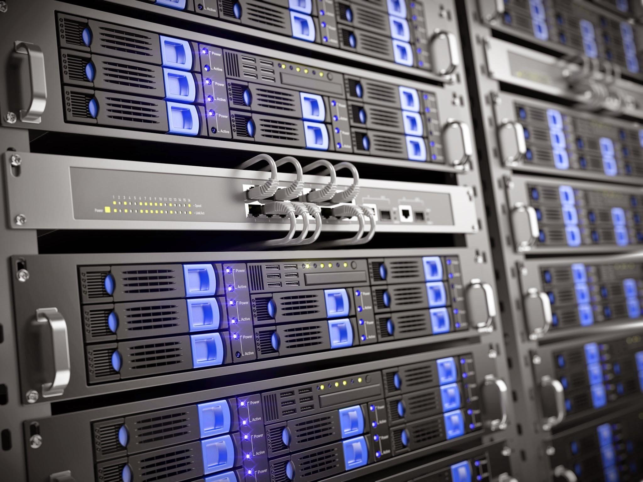 General server machine computer hardware network