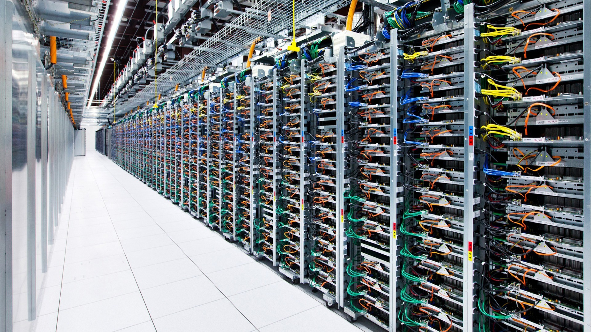 Google, Data Center, Network, Server, Computer