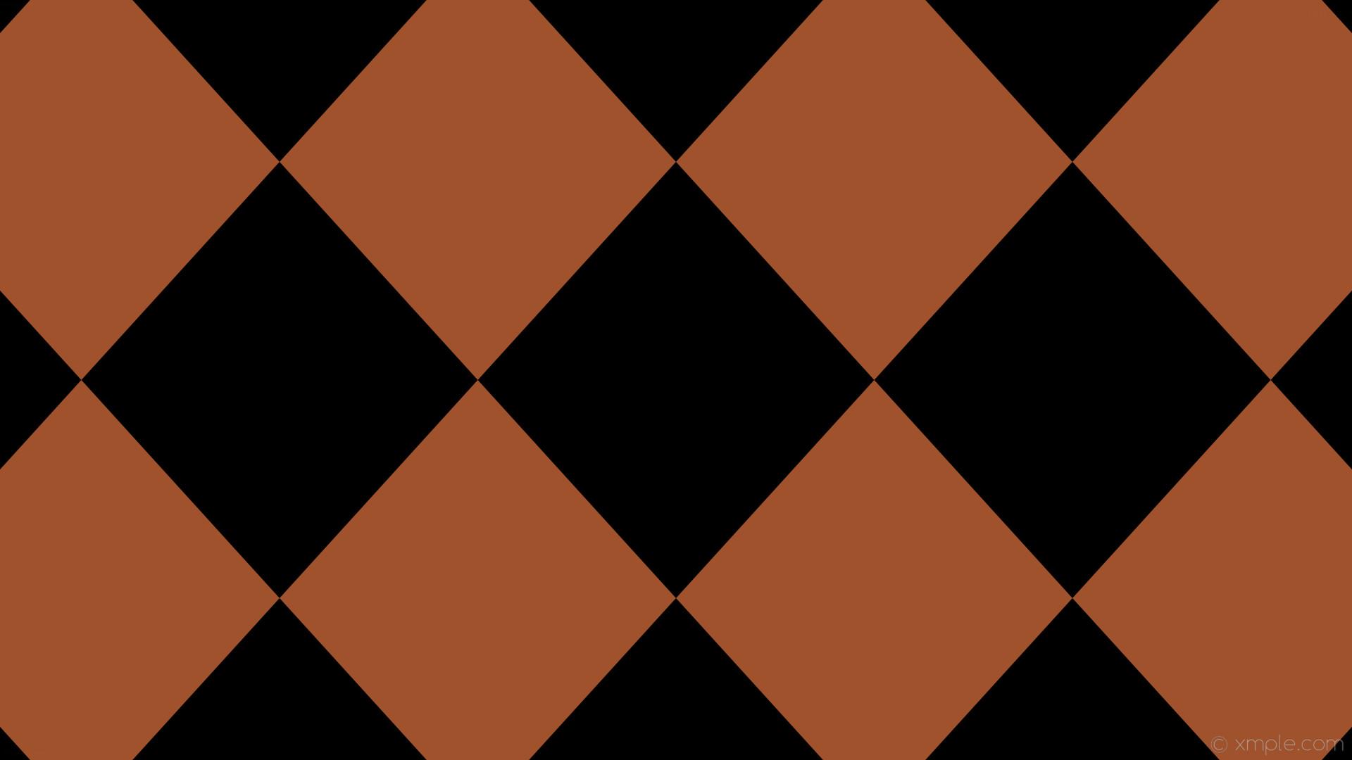 wallpaper lozenge brown rhombus diamond black sienna #000000 #a0522d 90°  620px 563px