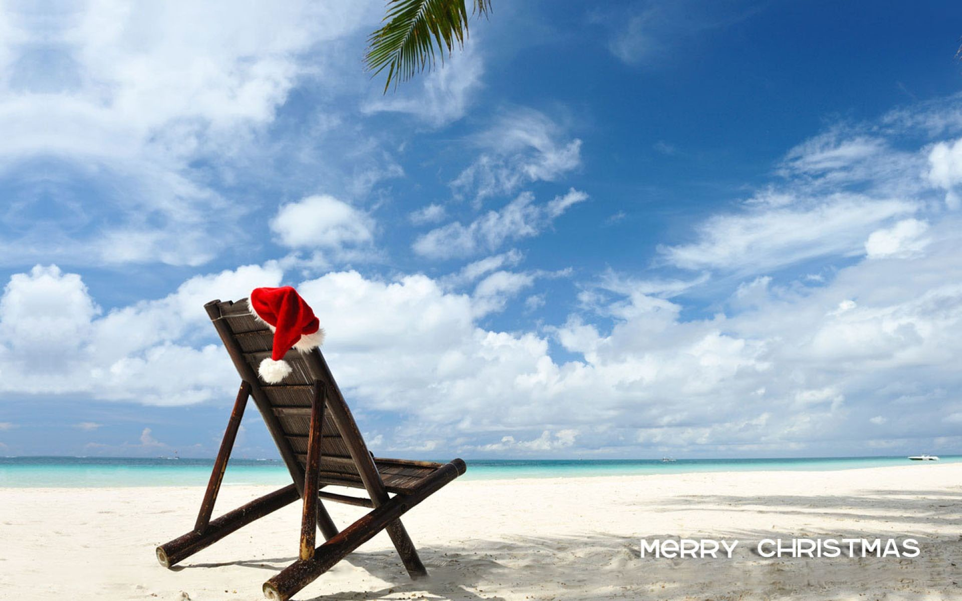 Merry Christmas At Beach | HD Christmas Wallpaper Free Download …