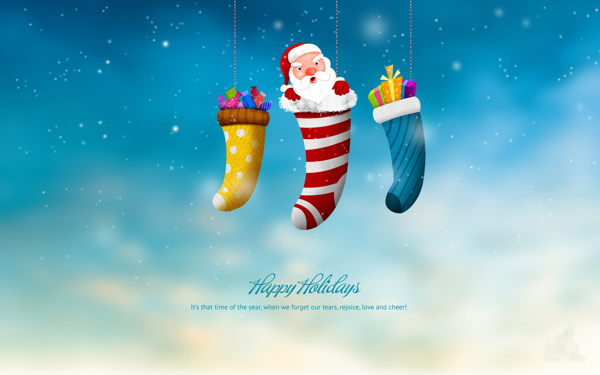 Happy Holiday And Merry Christmas Wallpaper Fullscreen