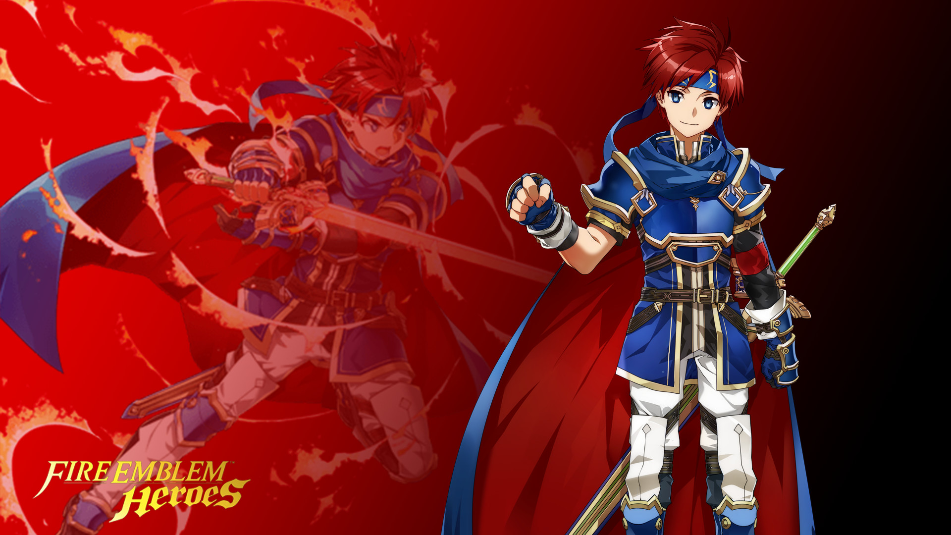 … Fire Emblem Heroes – Roy Wallpaper (Res) by russell4653