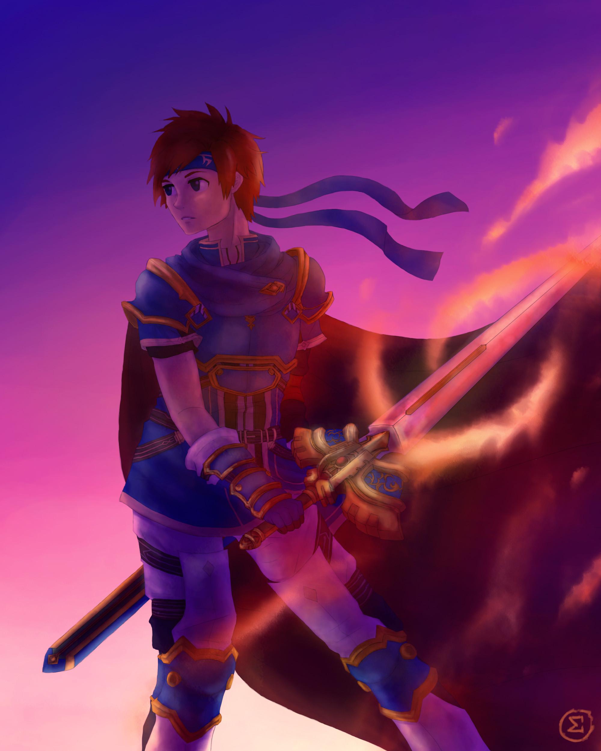 … Roy – Fire Emblem Heroes by fluffalcat