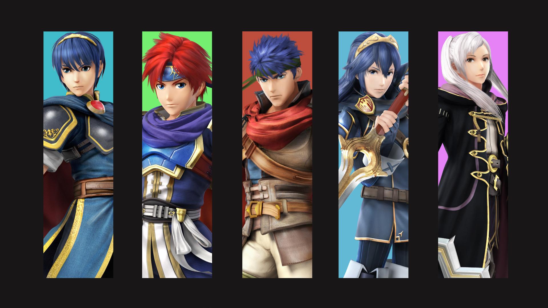 … Fire Emblem Smash Bros Cast by zupertompa
