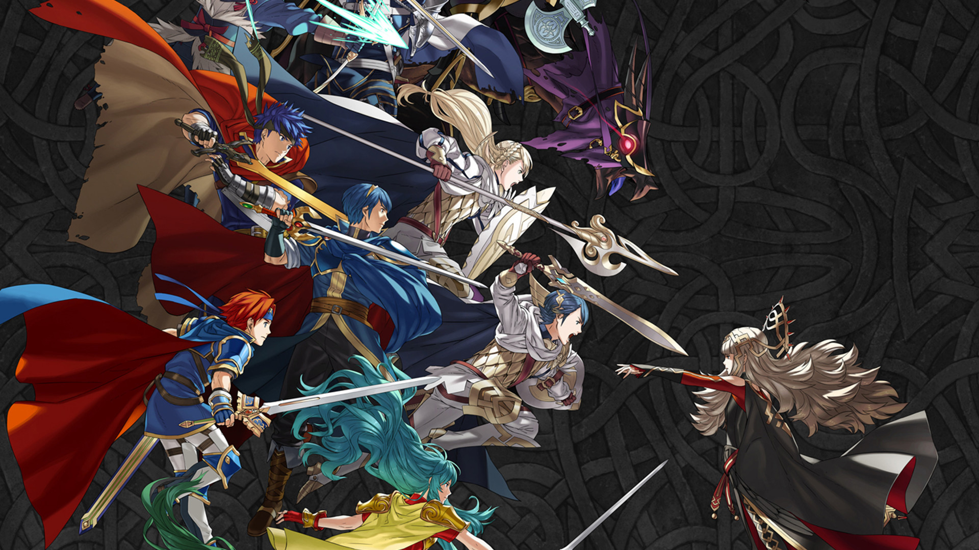 First Fire Emblem Heroes mobile calendars now revealed, feature Ike and Lyn  | Nintendo Wire