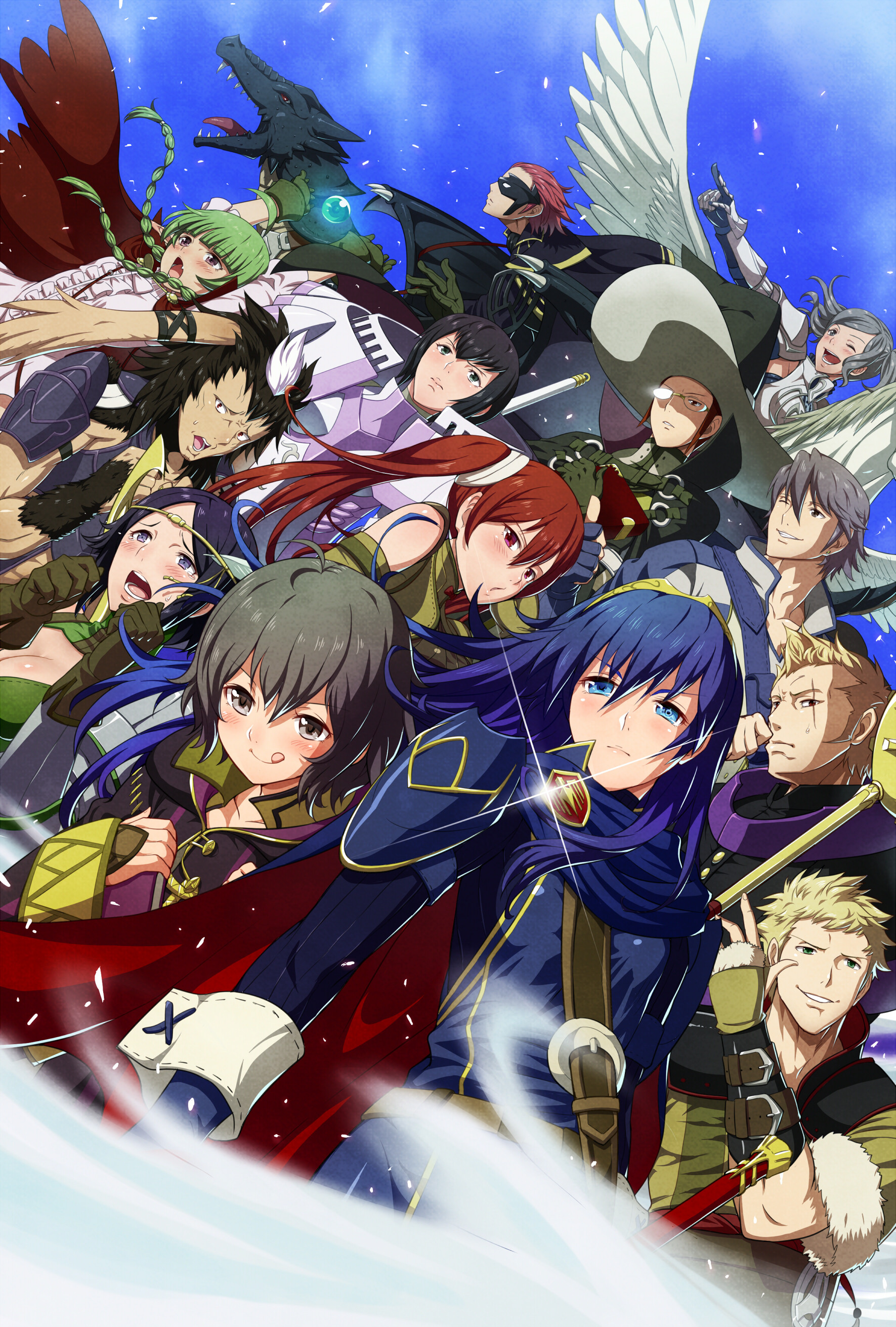 Fire Emblem: Awakening Children characters~ This looks so epic! I'm not