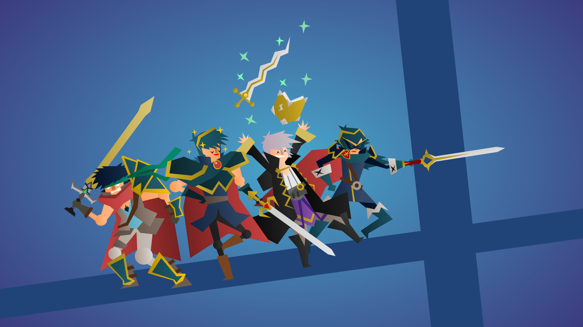 Made another pic: Fire Emblem Smashers! Tell me what you think ;*