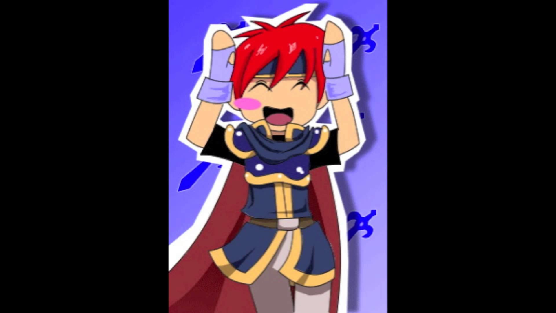 Fire Emblem Roy – Caramelldansen