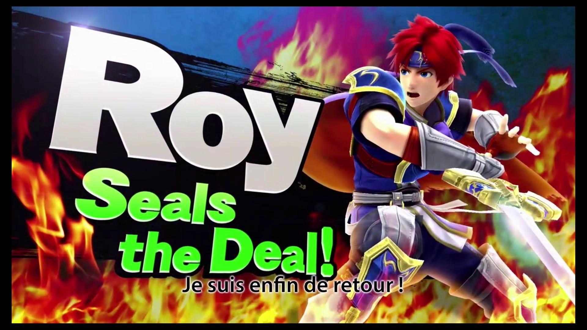 SSB4 – Roy Seals the Deal ! [1080P]