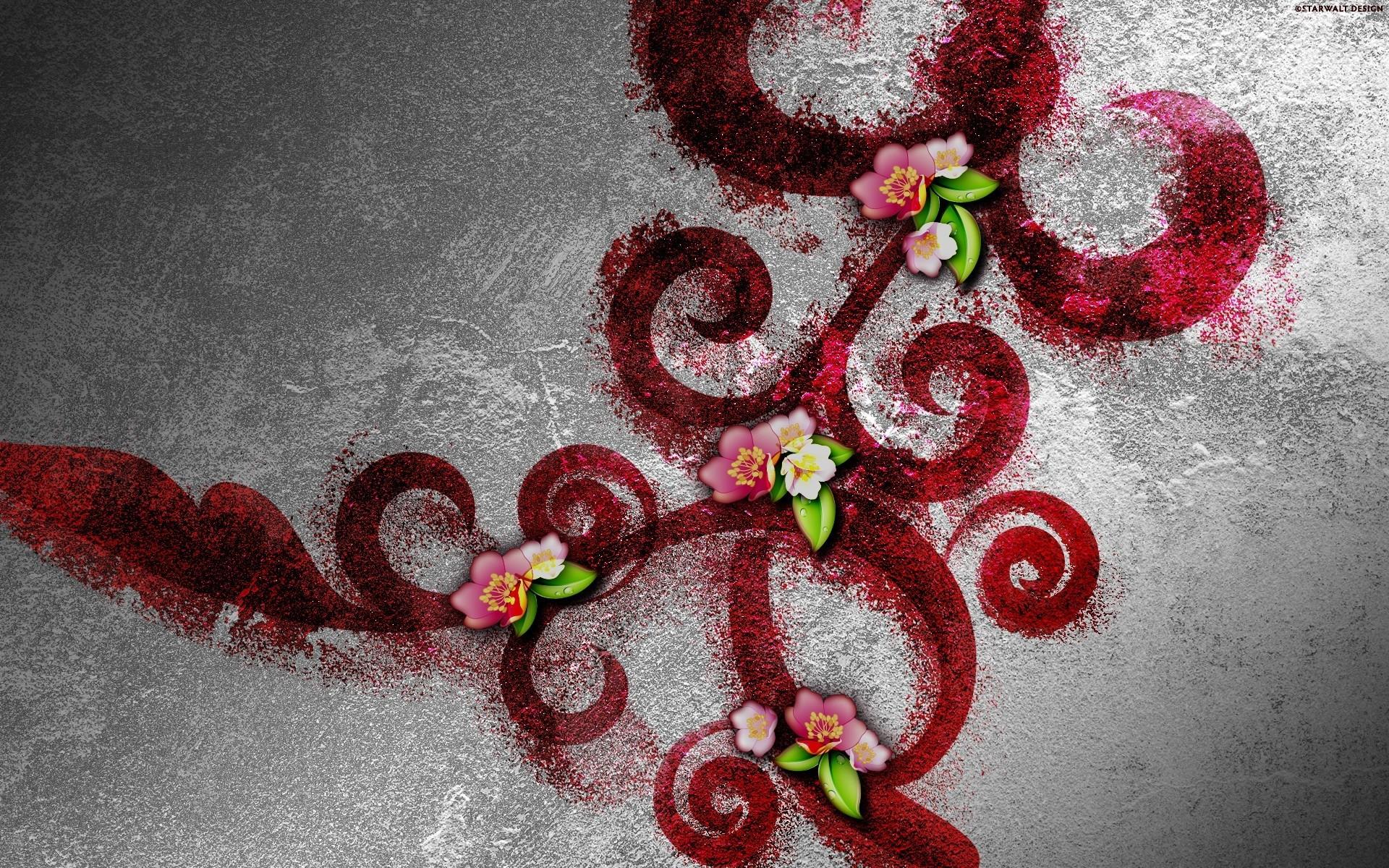 Wallpapers Flores Abstractas Para Tu Movil 6 HD Imagenes de Perros