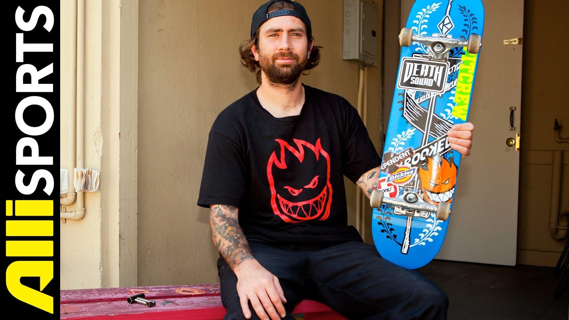 Bobby Worrest's Krooked Skateboard, Independent Trucks + Spitfire Wheels  Setup, Alli Sports – YouTube