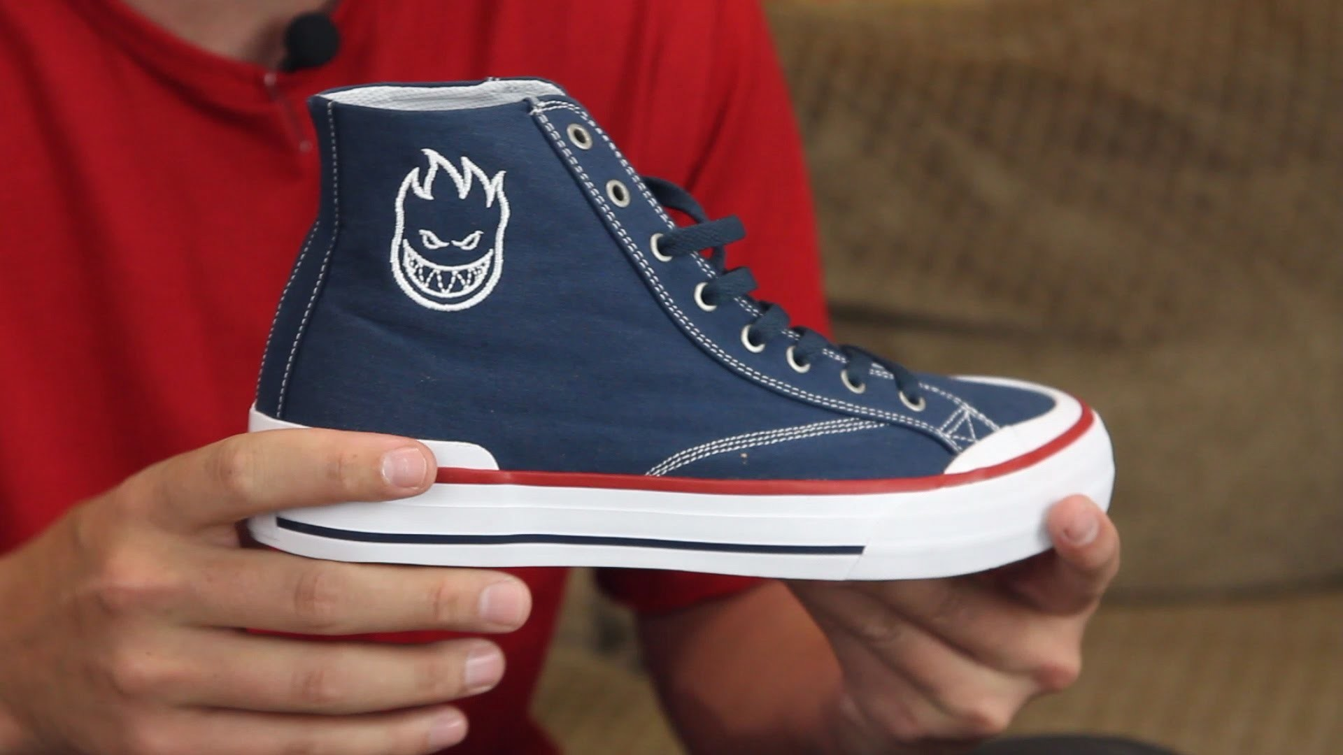 HUF Classic Hi & Lo Spitfire Skate Shoes Review – Tactics.com – YouTube