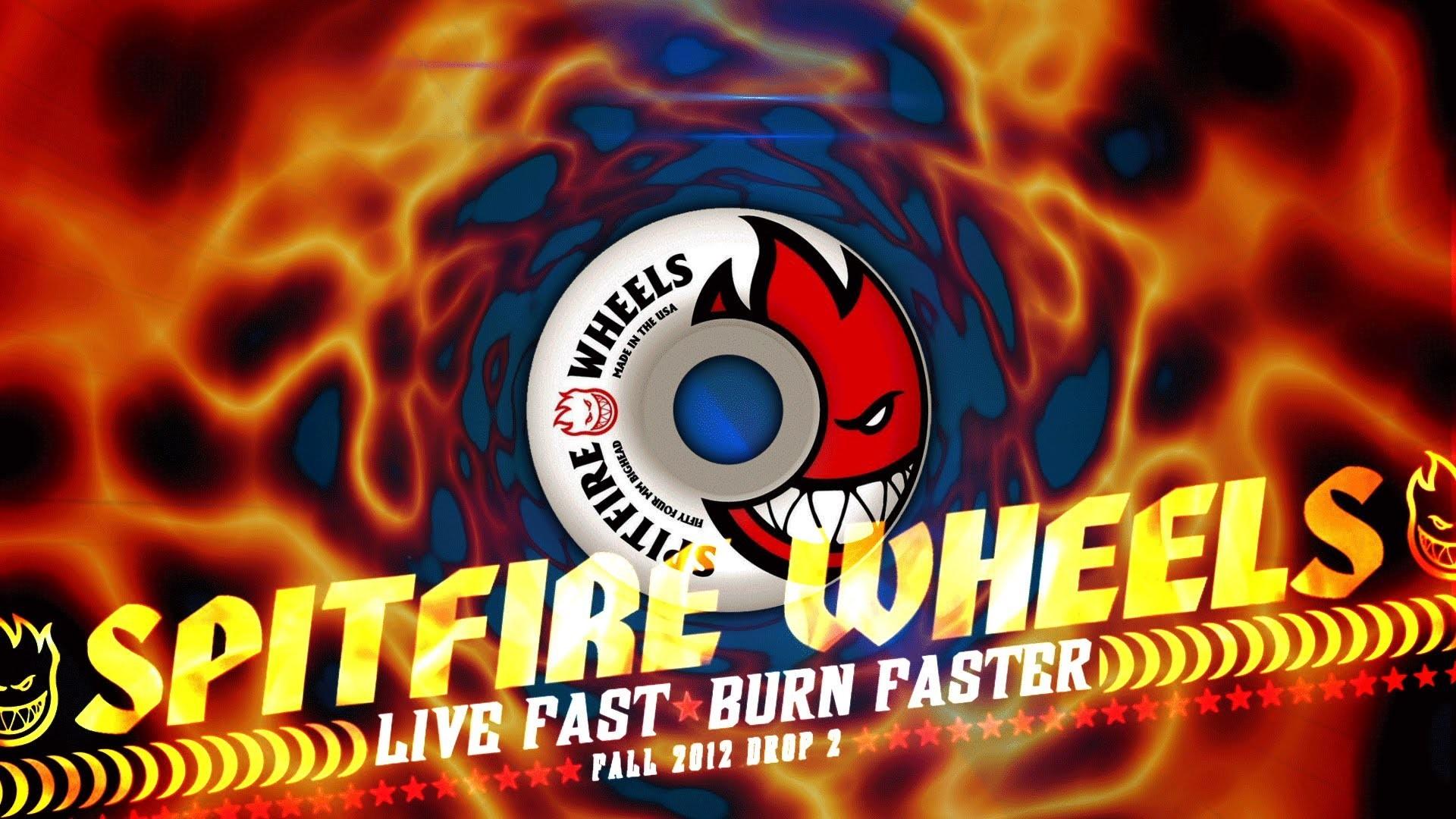 Spitfire Wheels – Live Fast – Burn Faster