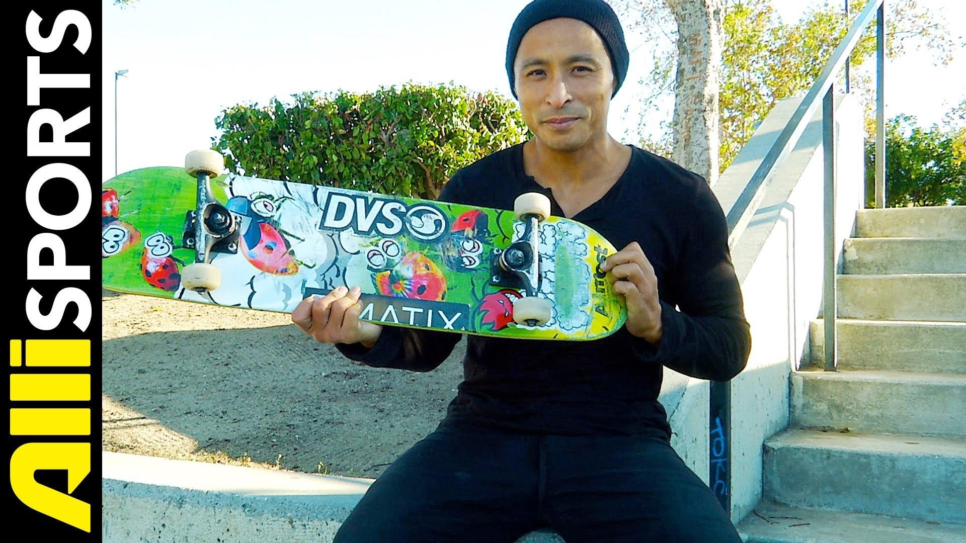 Daewon Song's Almost Skateboard, Tensor Trucks + Spitfire Wheels Setup,  Alli Sports – YouTube