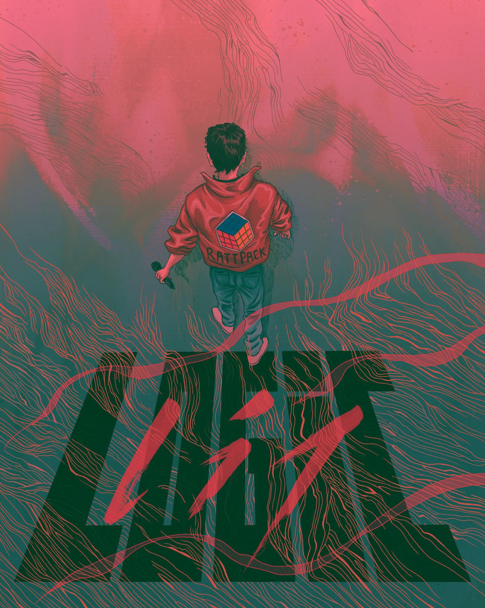 Logic – Rapper – Night – Illustrated by Dom Tsoi