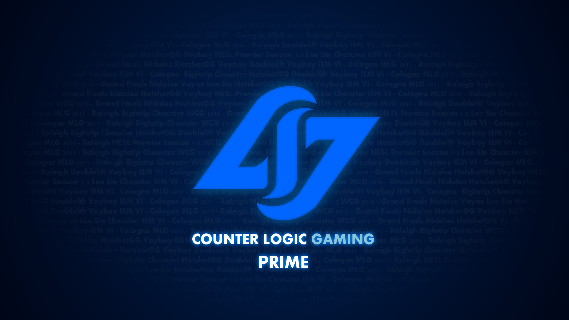 Counter Logic Gaming Prime Wallpaper by ggeorgiev92 Counter Logic Gaming  Prime Wallpaper by ggeorgiev92
