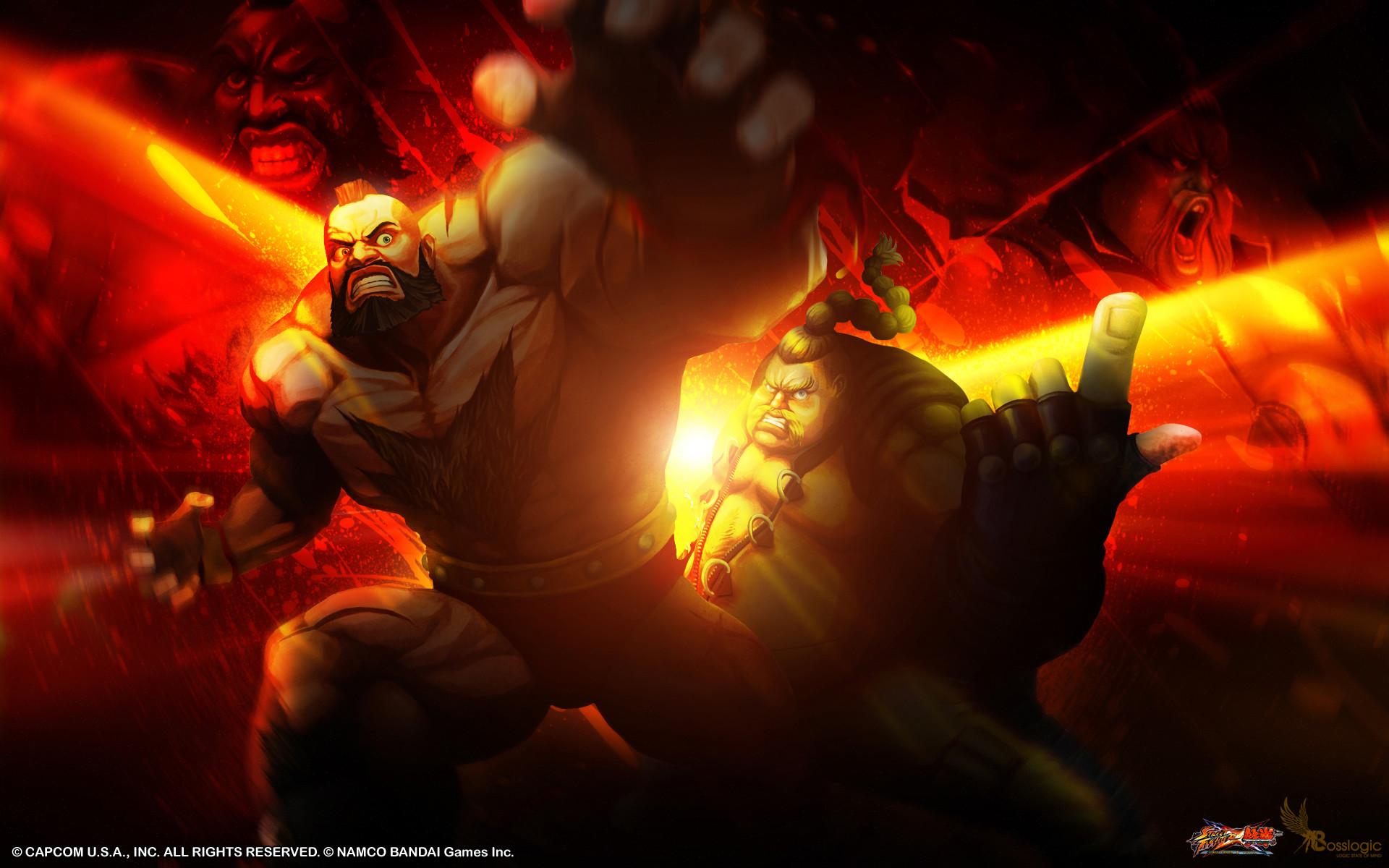 Street Fighter X Tekken Boss Logic wallpaper #9