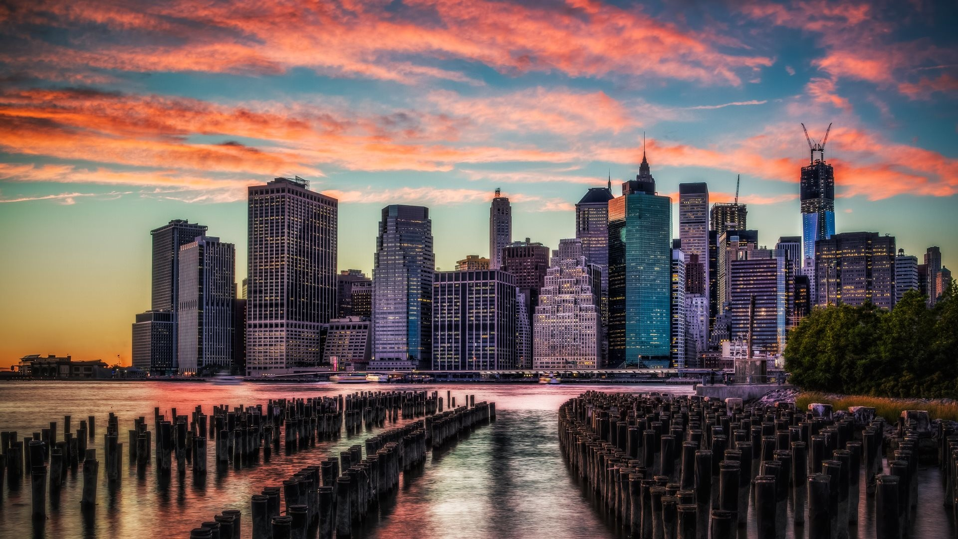 The 2nd wallpaper with skyscrapers from Manhattan, NY. 4K Ultra High  Definition …