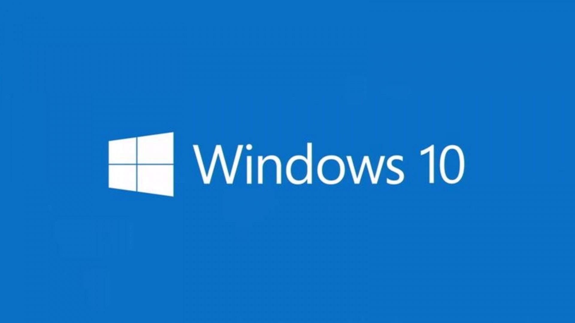 Preview wallpaper windows 10 technical preview, windows 10 logo, microsoft  1920×1080
