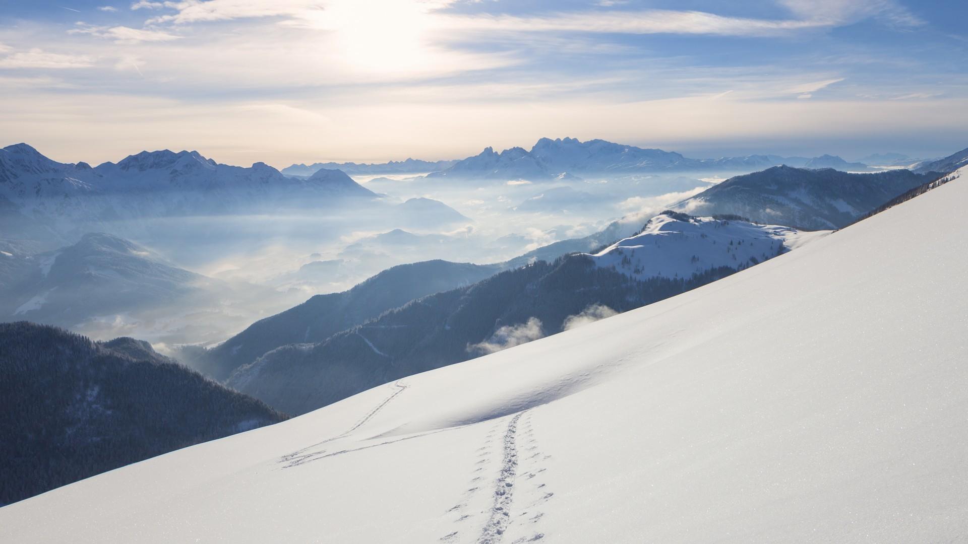 Snow Mountains Windows 10