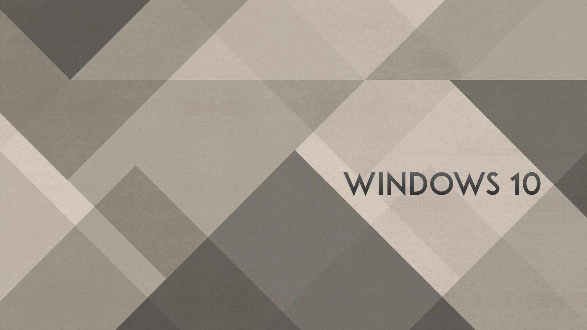 Windows 10 Wallpaper 1080p Full HD Grey Abstract – HD-Desktop