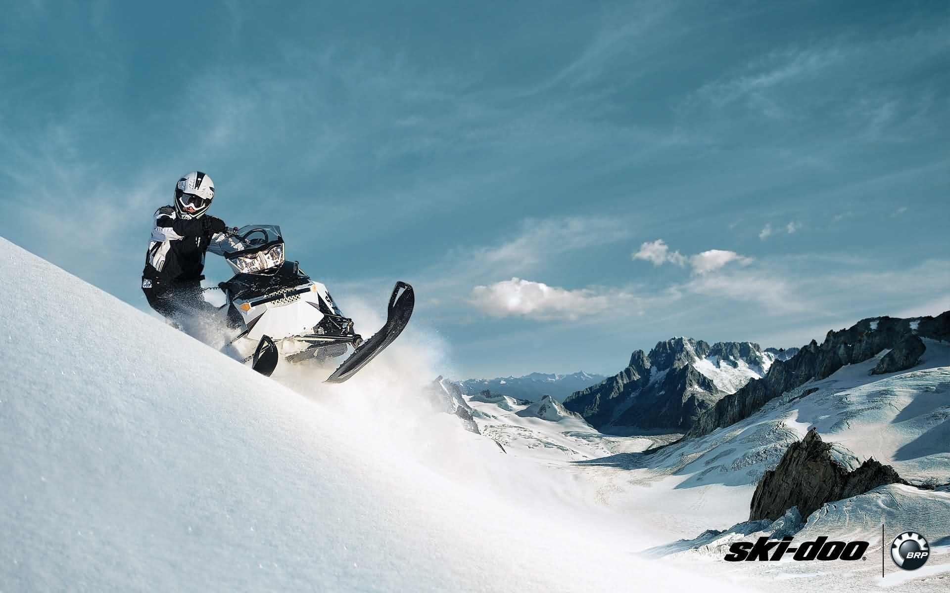 SKI-DOO snowmobile sled ski doo winter snow extreme wallpaper | |  648405 | WallpaperUP