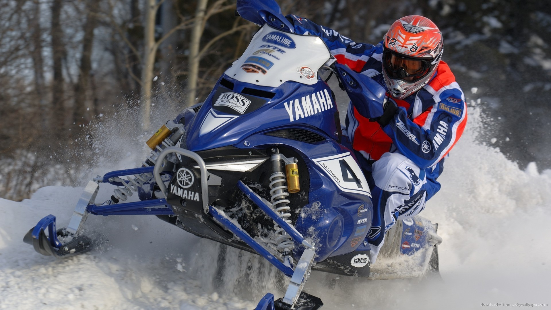 Yamaha Snowmobile Wallpaper picture