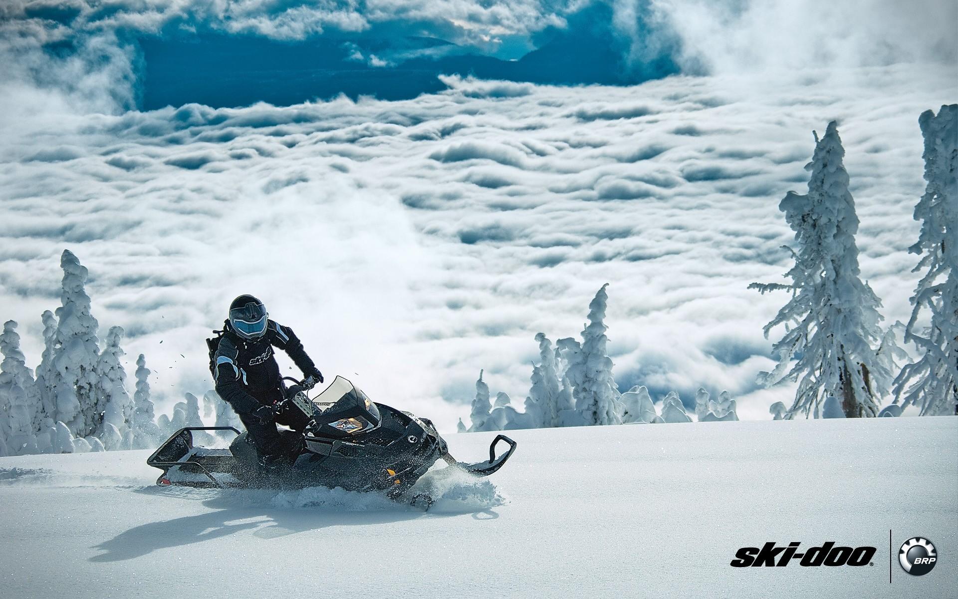 Xtreme Ski Doo Tundra Desktop Wallpaper Winter Sport
