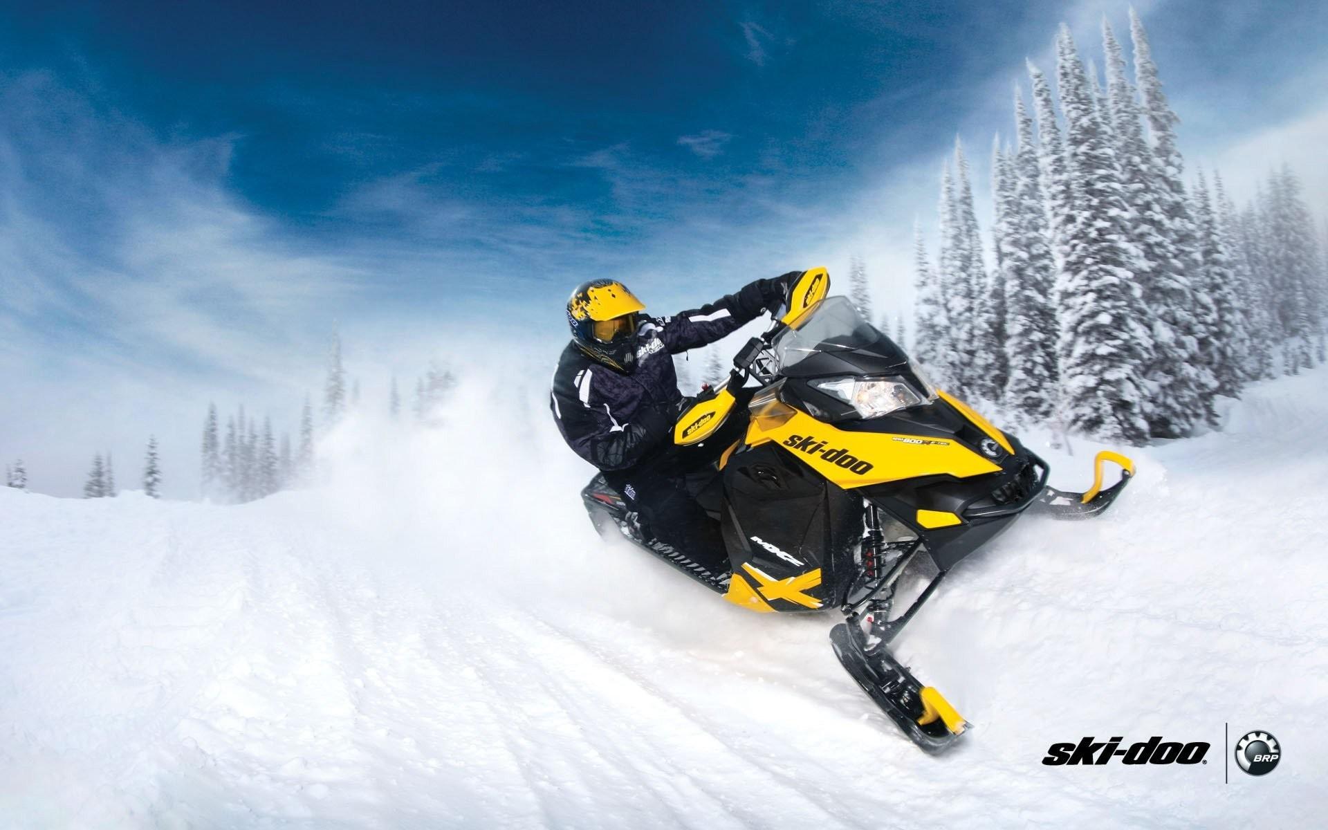 ski-doo skidoo mxz snowmobile snowmobiles brp snow snow forest sports sport