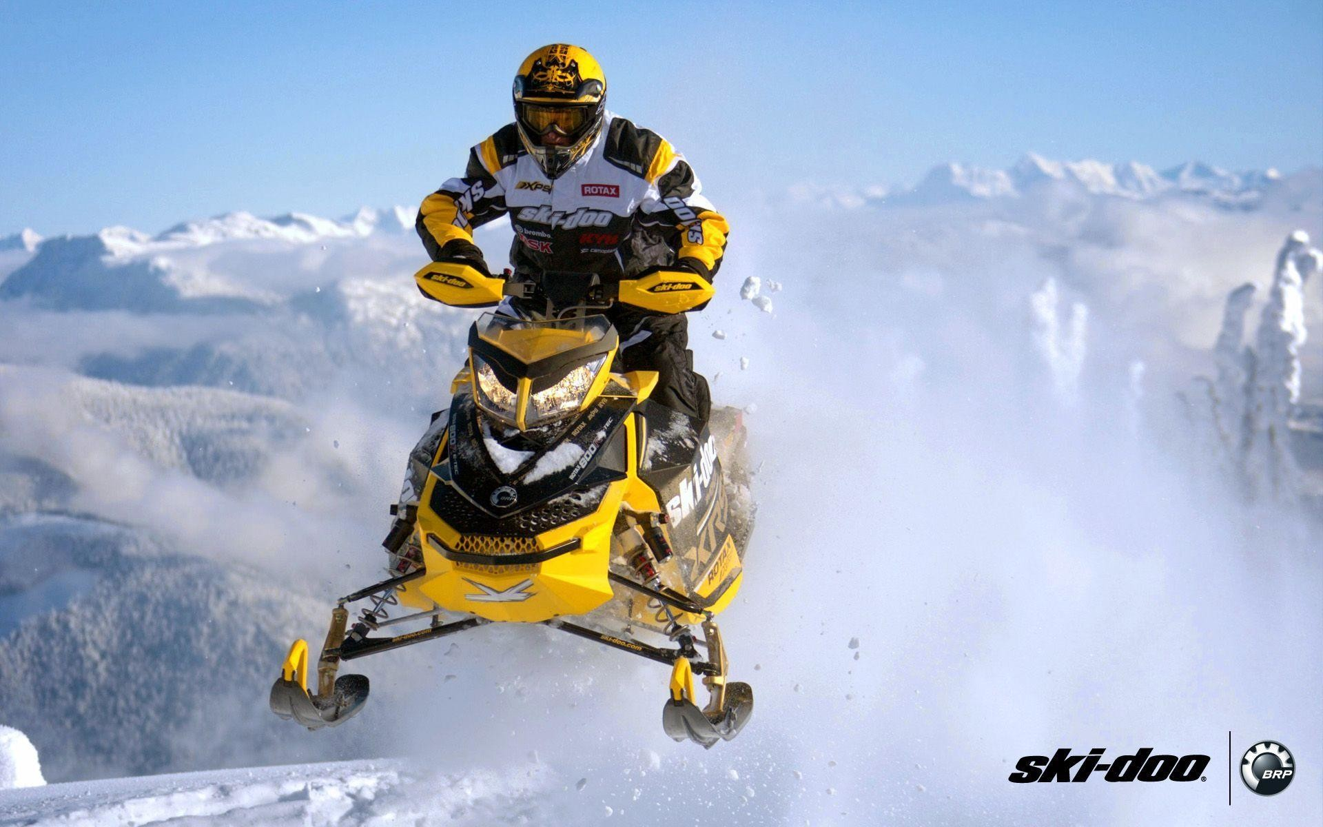 SKI-DOO MXZ Turbo Sno Pro snowmobile winter ski doo r wallpaper .