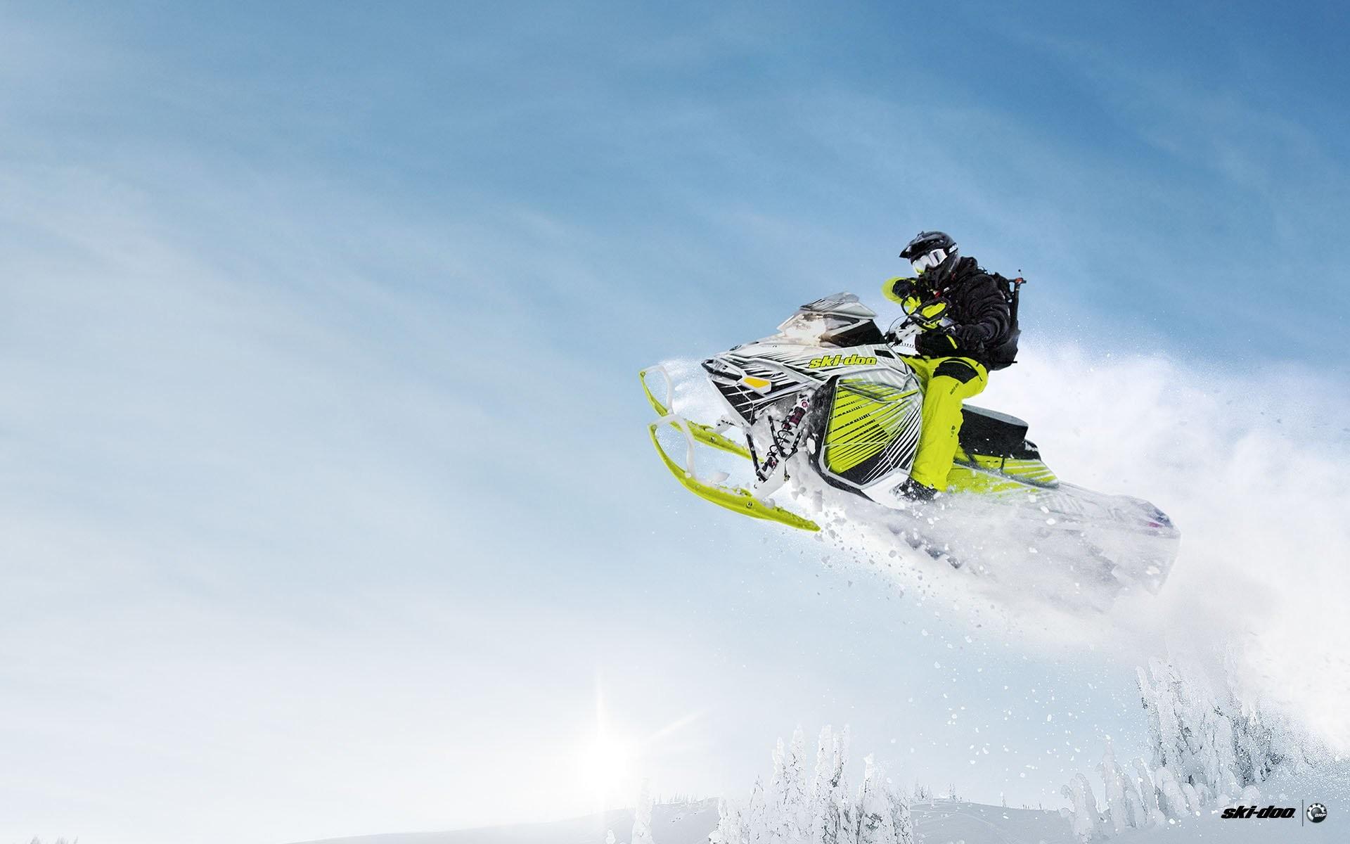 SKI-DOO snowmobile sled ski doo winter snow extreme wallpaper | |  648407 | WallpaperUP