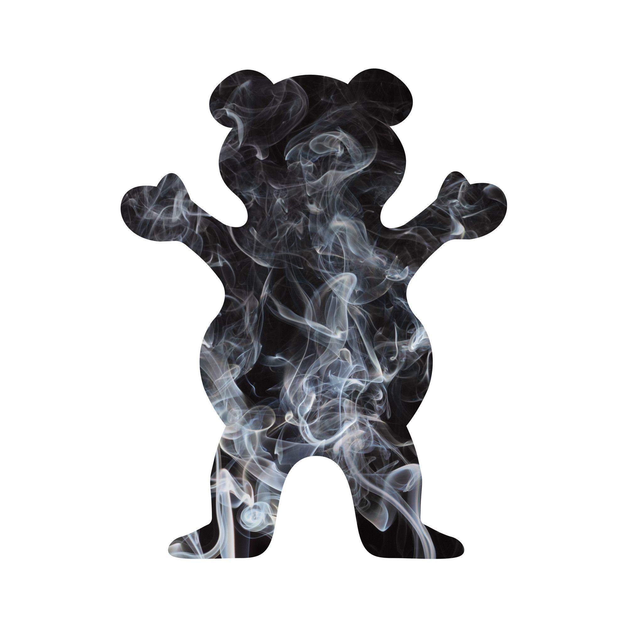 Smoke Fill Bear Sticker