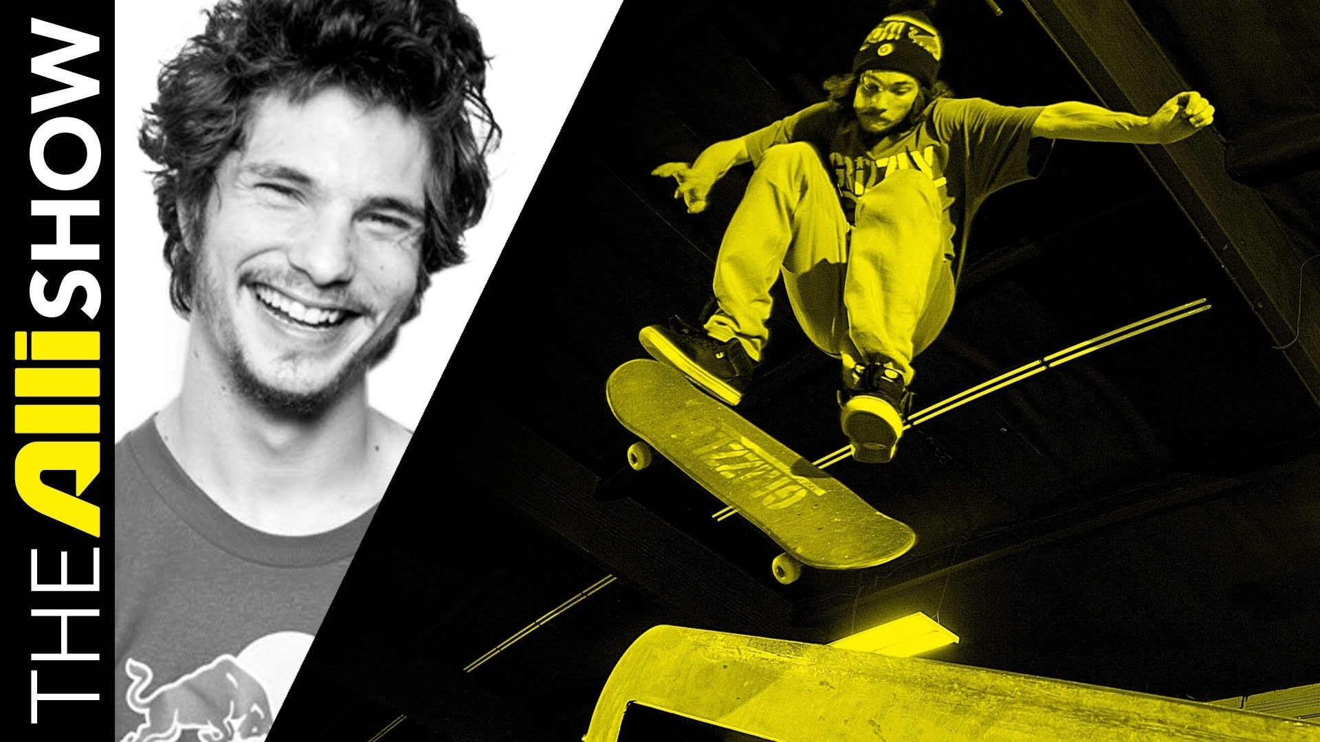 Torey Pudwill, aka T-Puds, Skates to the Top Then Starts Grizzly Grip, The  Alli Show – YouTube