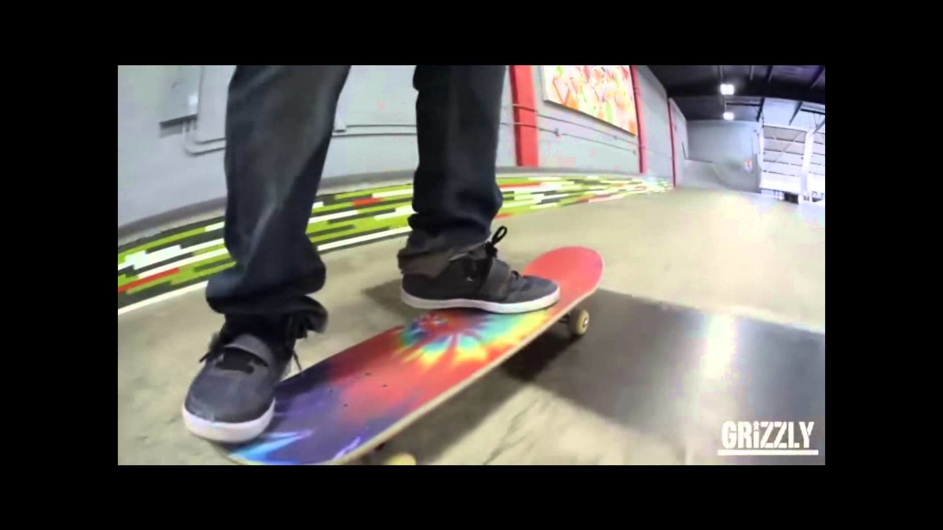 GRIZZLY: Torey Pudwill Grizzly Griptape Tie Dye Commercial