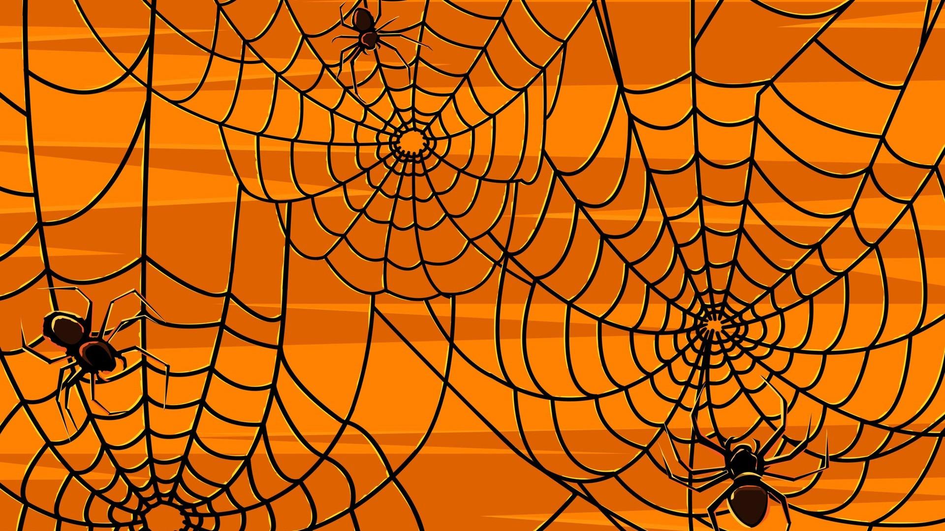 Halloween Spider Webs – Wallpaper #37575