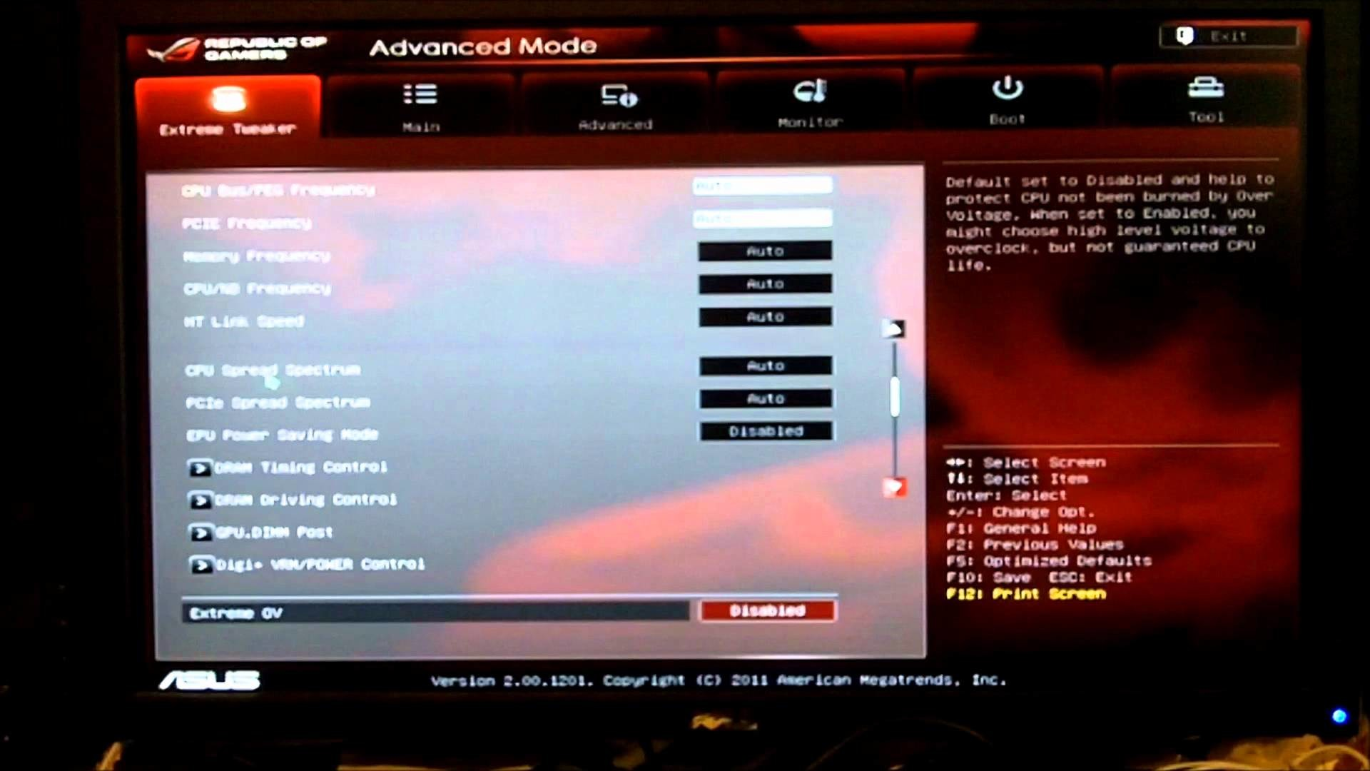 ASUS Republic of Gamers Crosshair V Formula with AMD FX 8150 – BIOS –  YouTube