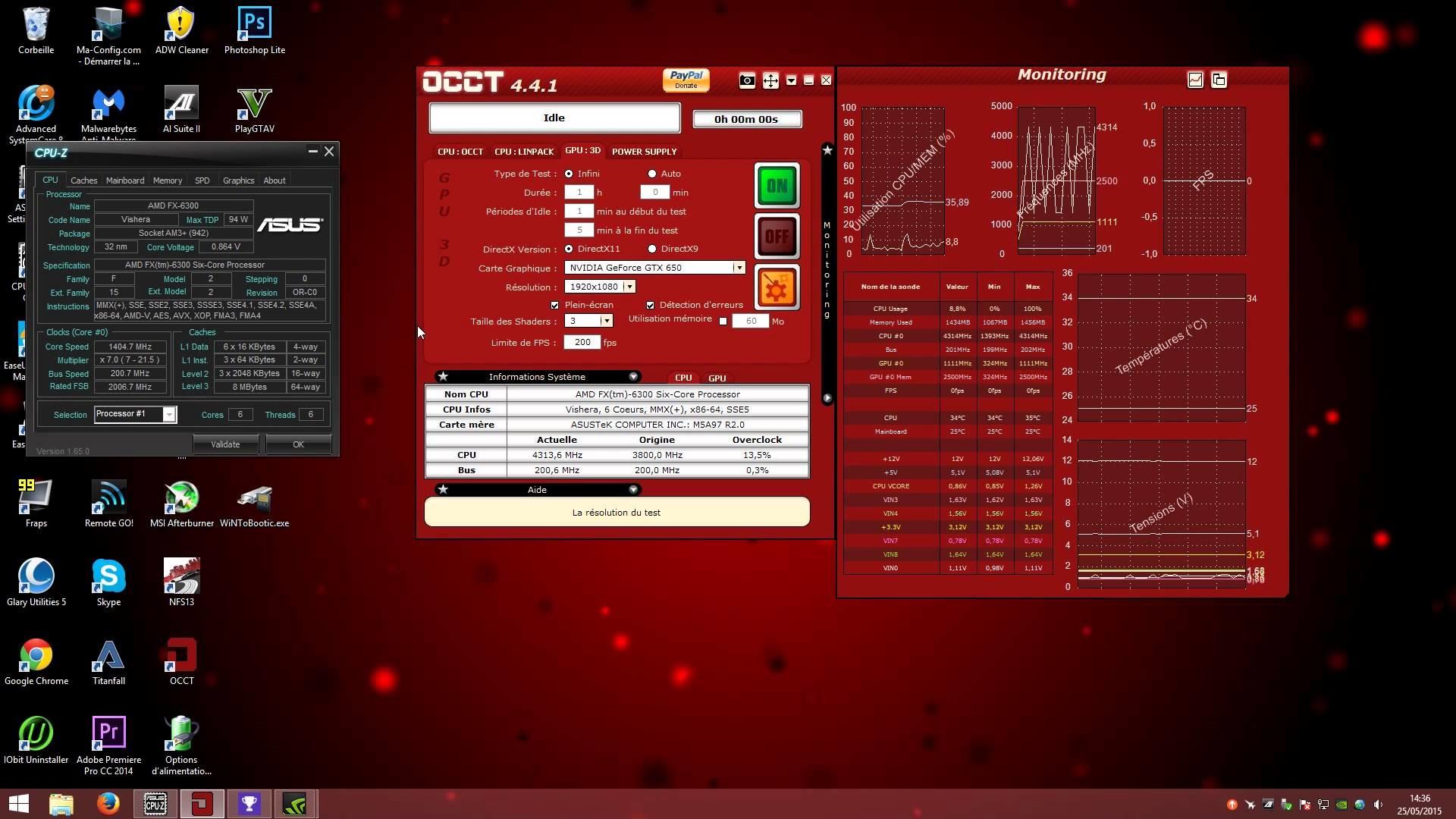 [TUTO] Overclocker son AMD FX 6300 ou autres processeurs