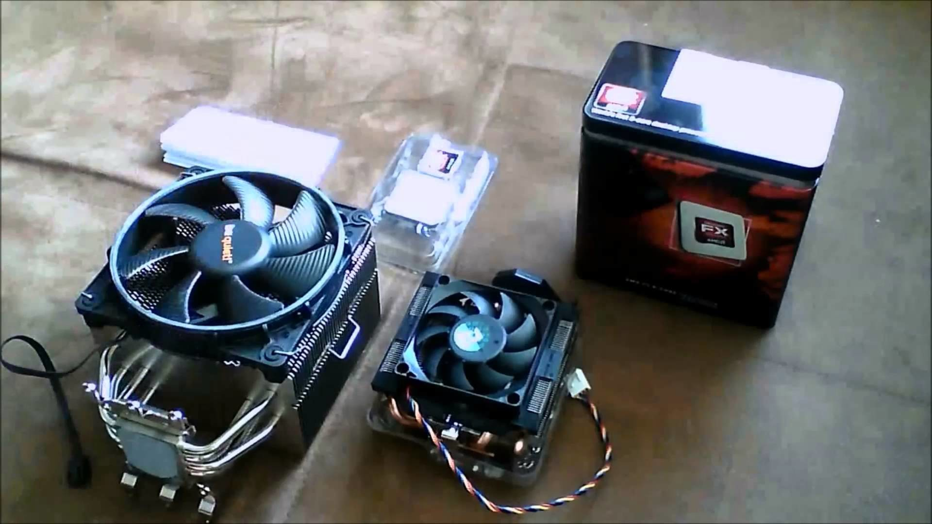 Unboxing CPU AMD FX 8320 (Ger)