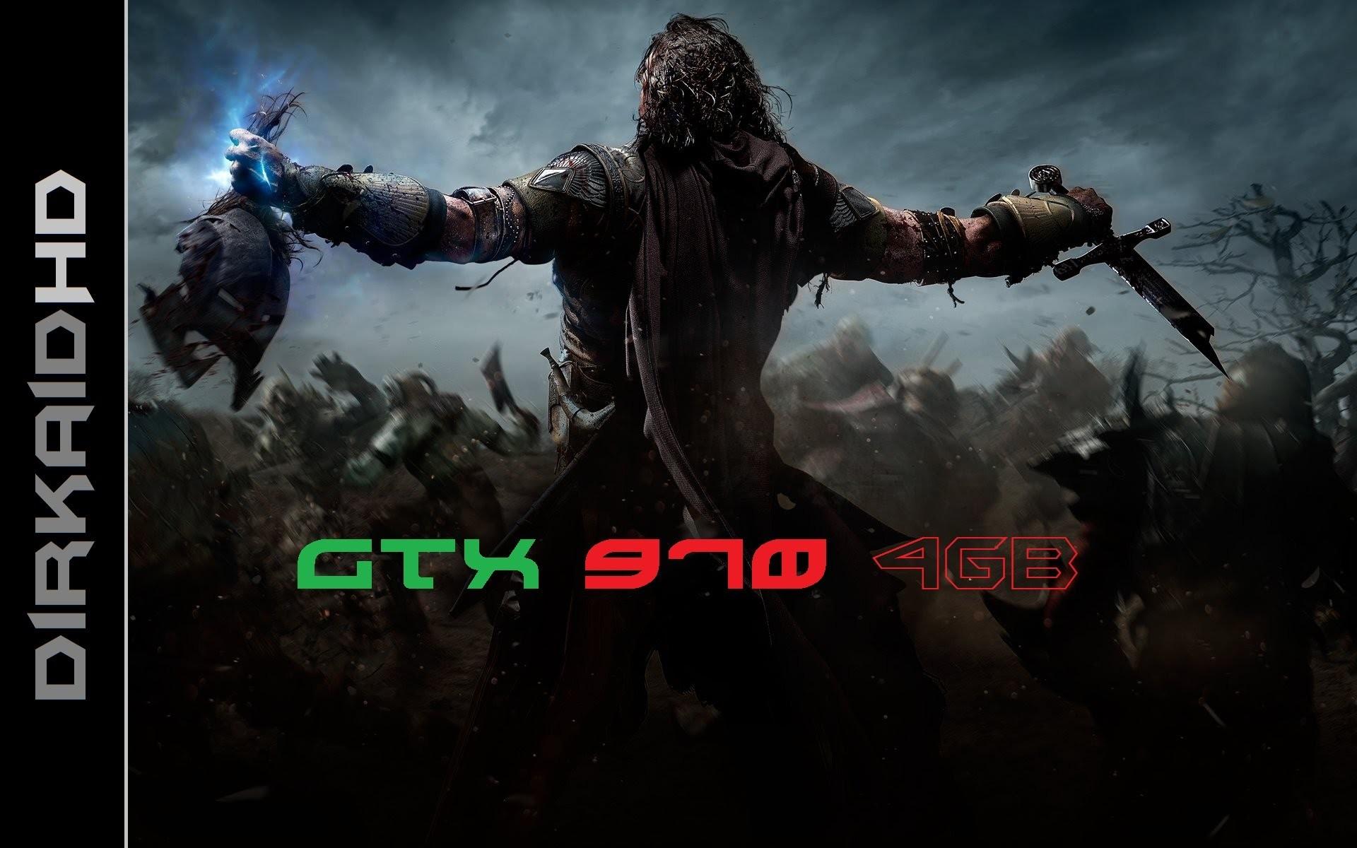 Shadow of Mordor Gameplay GTX 970 4GB+AMD FX 9370 FULL HD   PC  