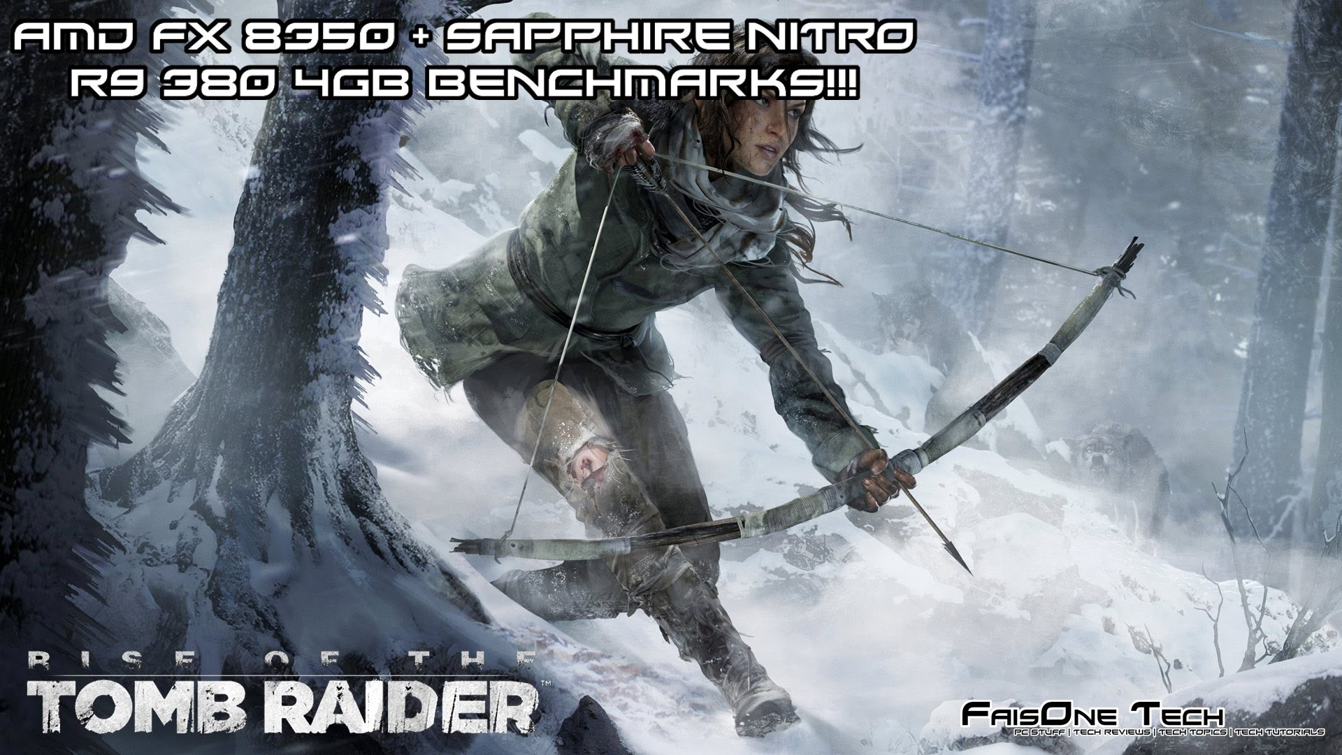 Rise of the Tomb Raider PC Performance – AMD FX 8350 + R9 380 – YouTube