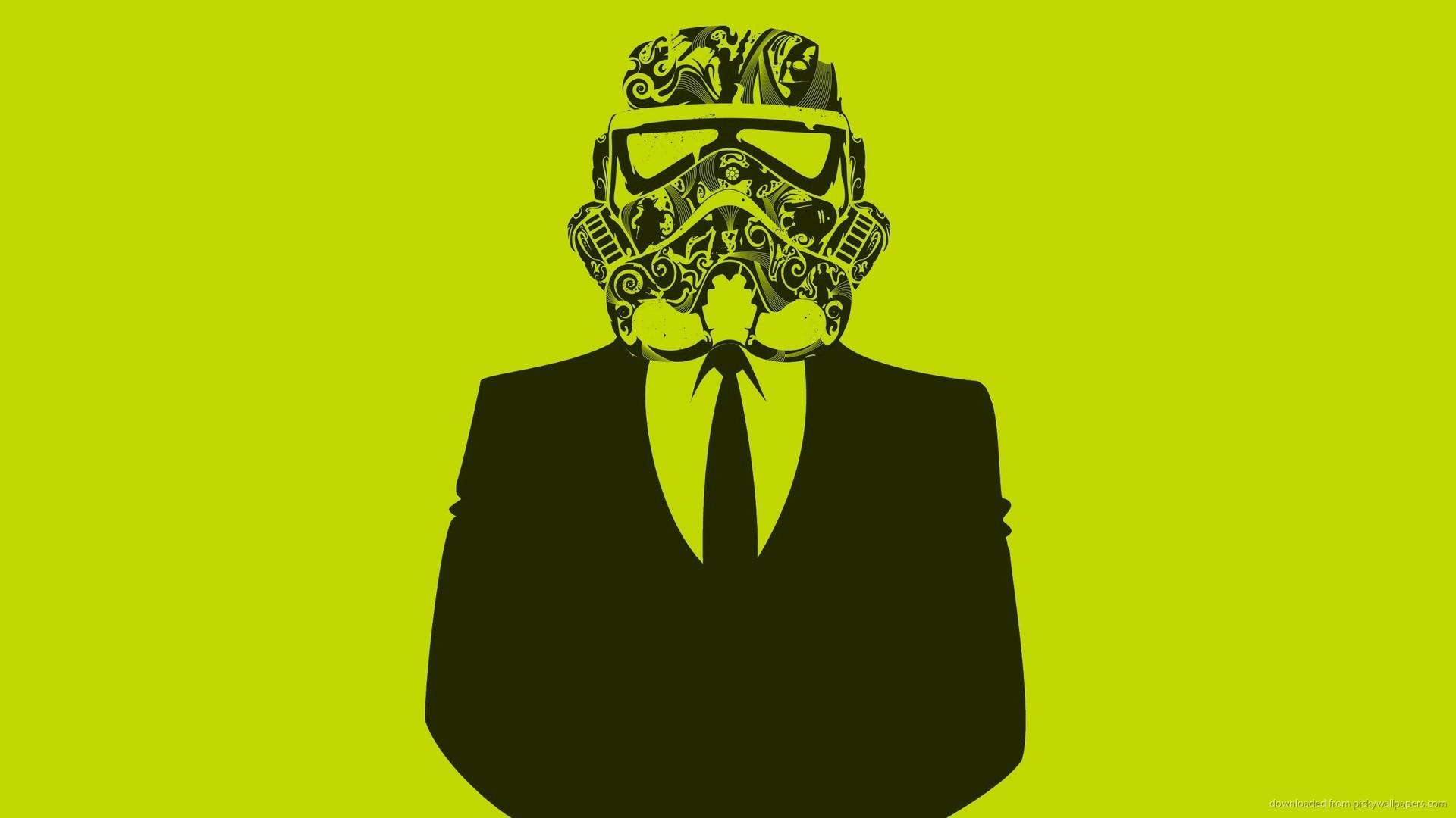 HD Stormtrooper In A Suit wallpaper