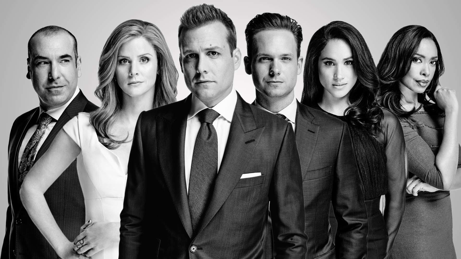 Cast Season 5 – Suits Wallpaper