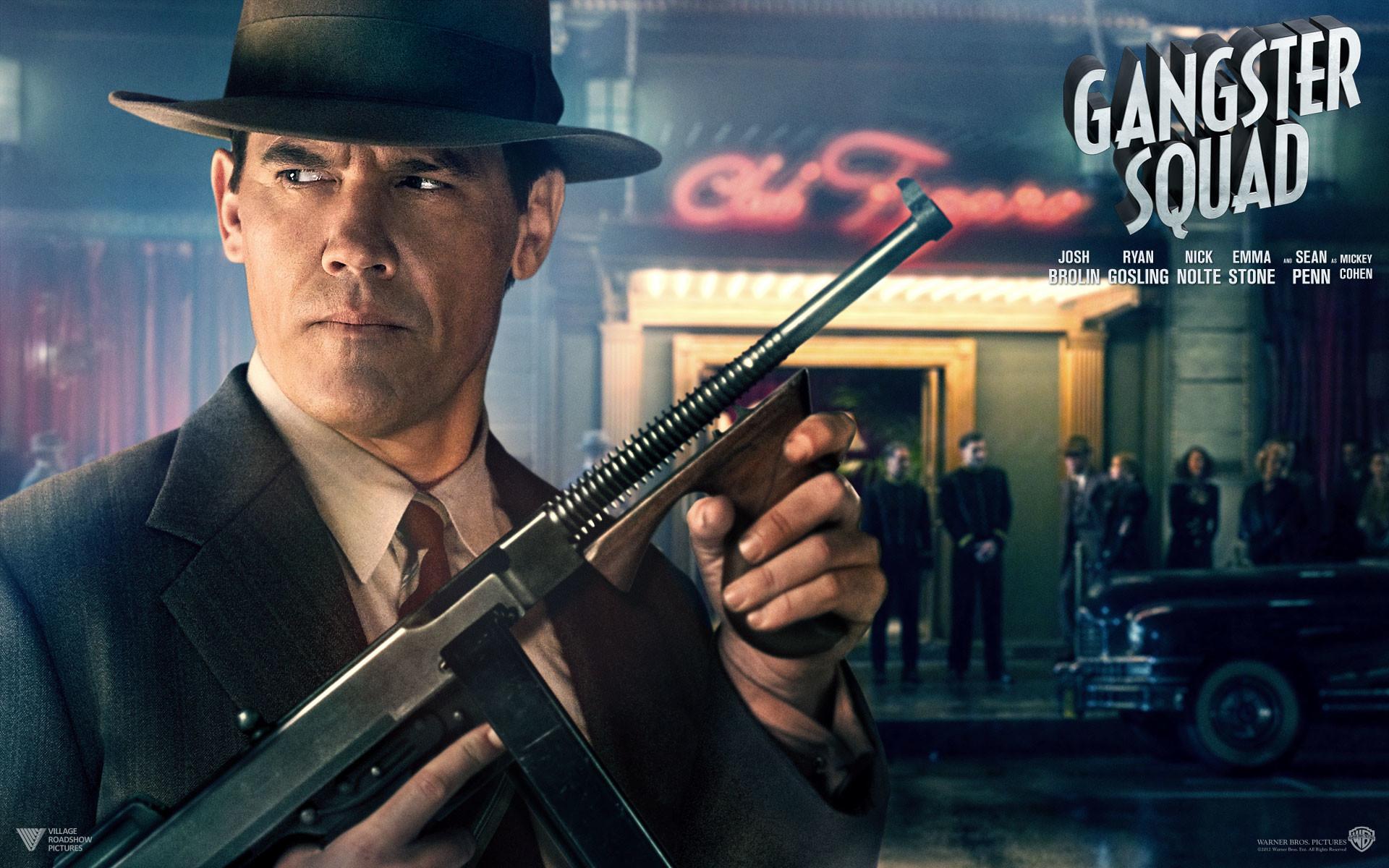 Movie – Gangster Squad Gangster Josh Brolin Wallpaper
