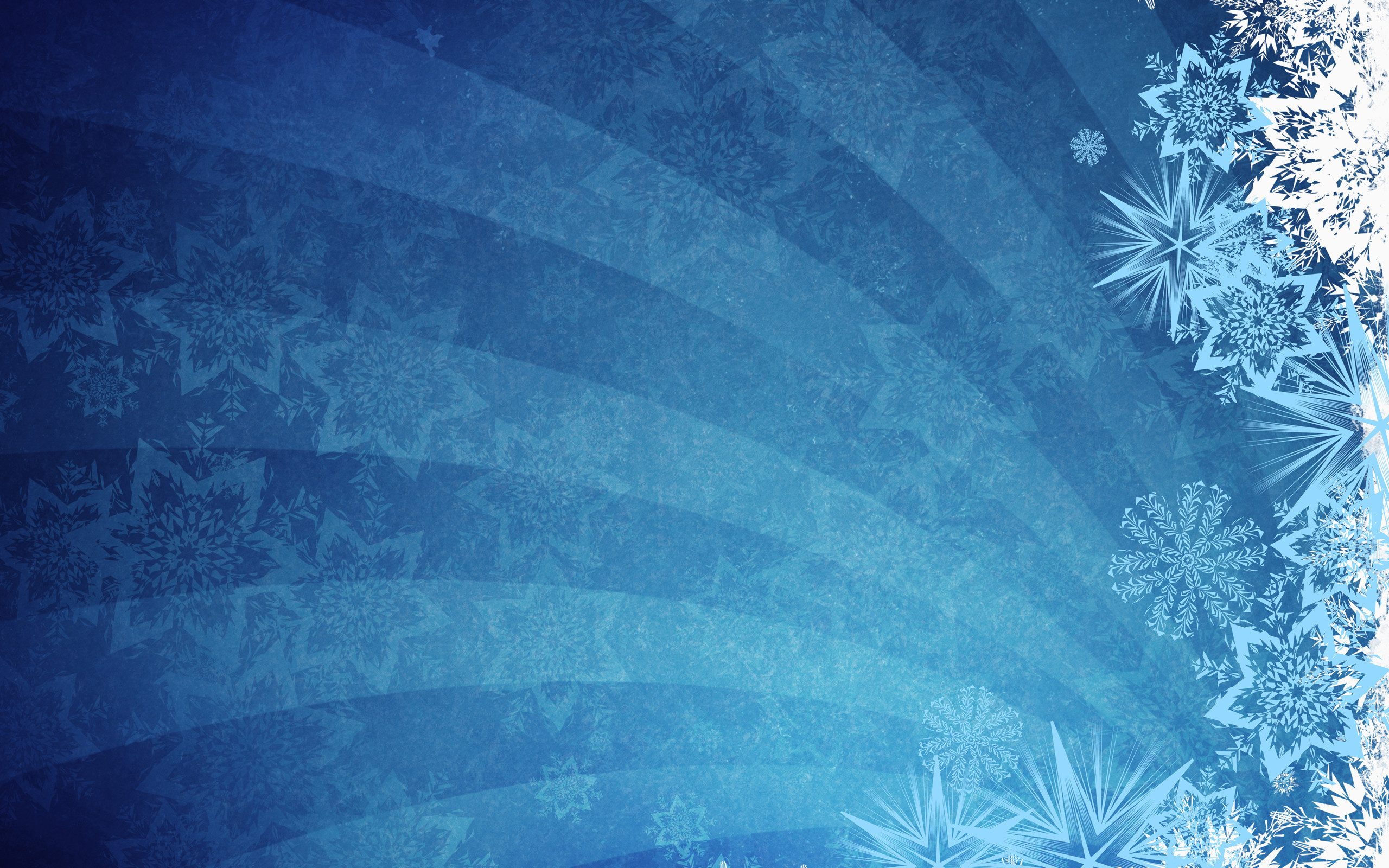 Blue Grunge Grunge Background Snowflakes Vectors #10192