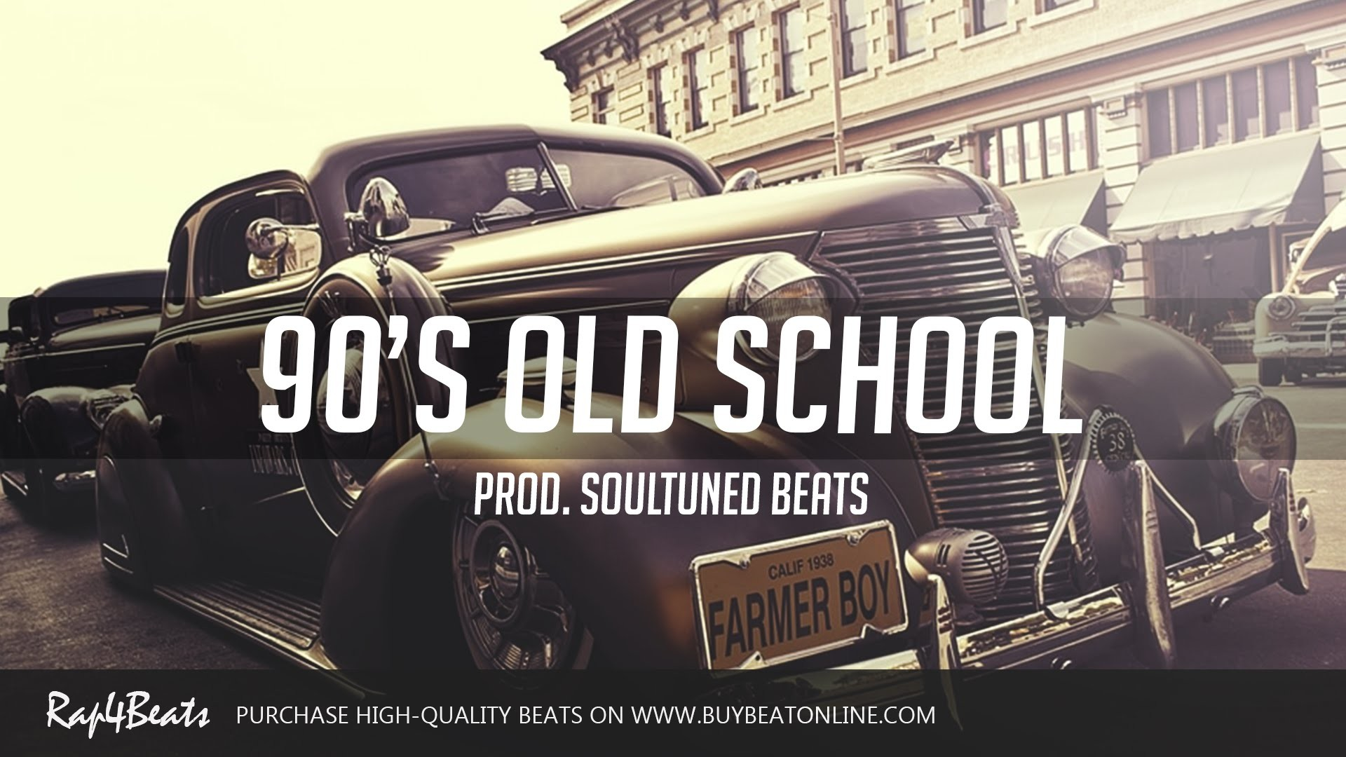 90's Old school Hip Hop Rap Beats Instrumental 2016 (Prod. SoulTuned Beats)