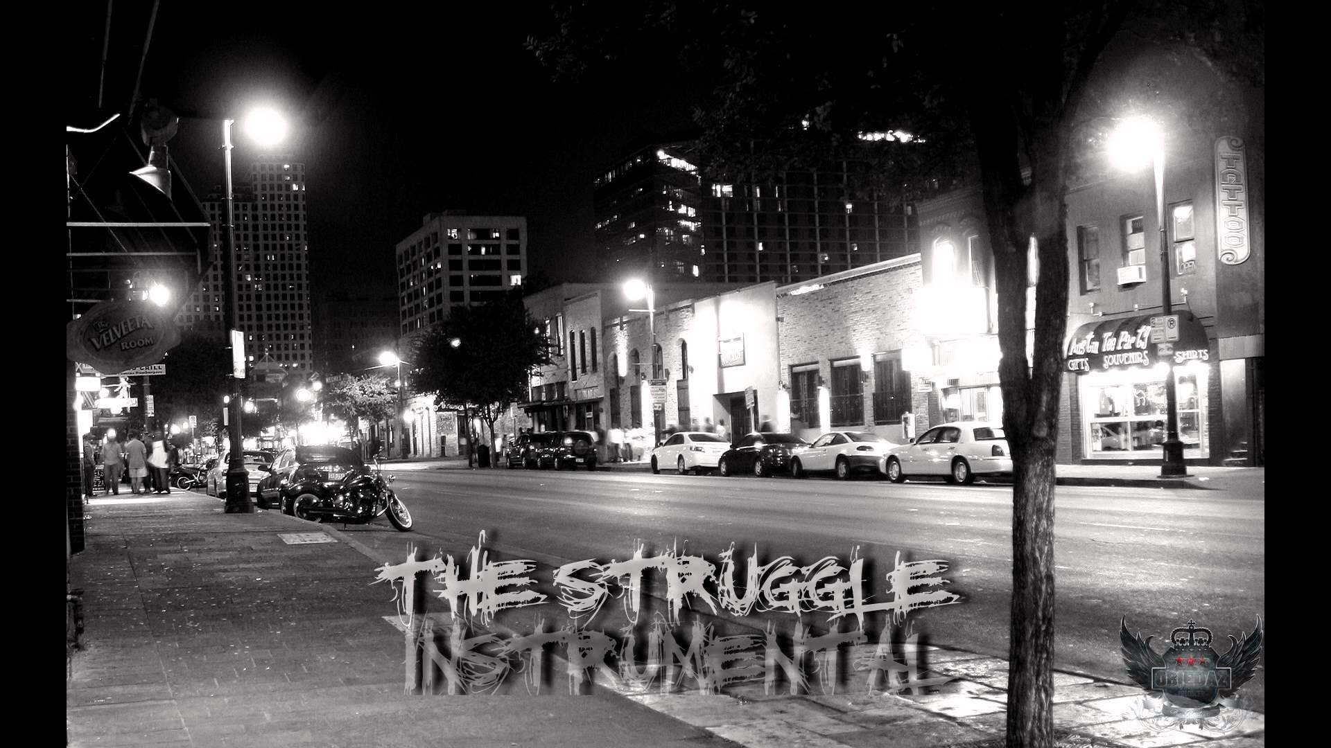 """90s Oldschool Hip Hop Rap Instrumental """"The Struggle"""" [SOLD]"""