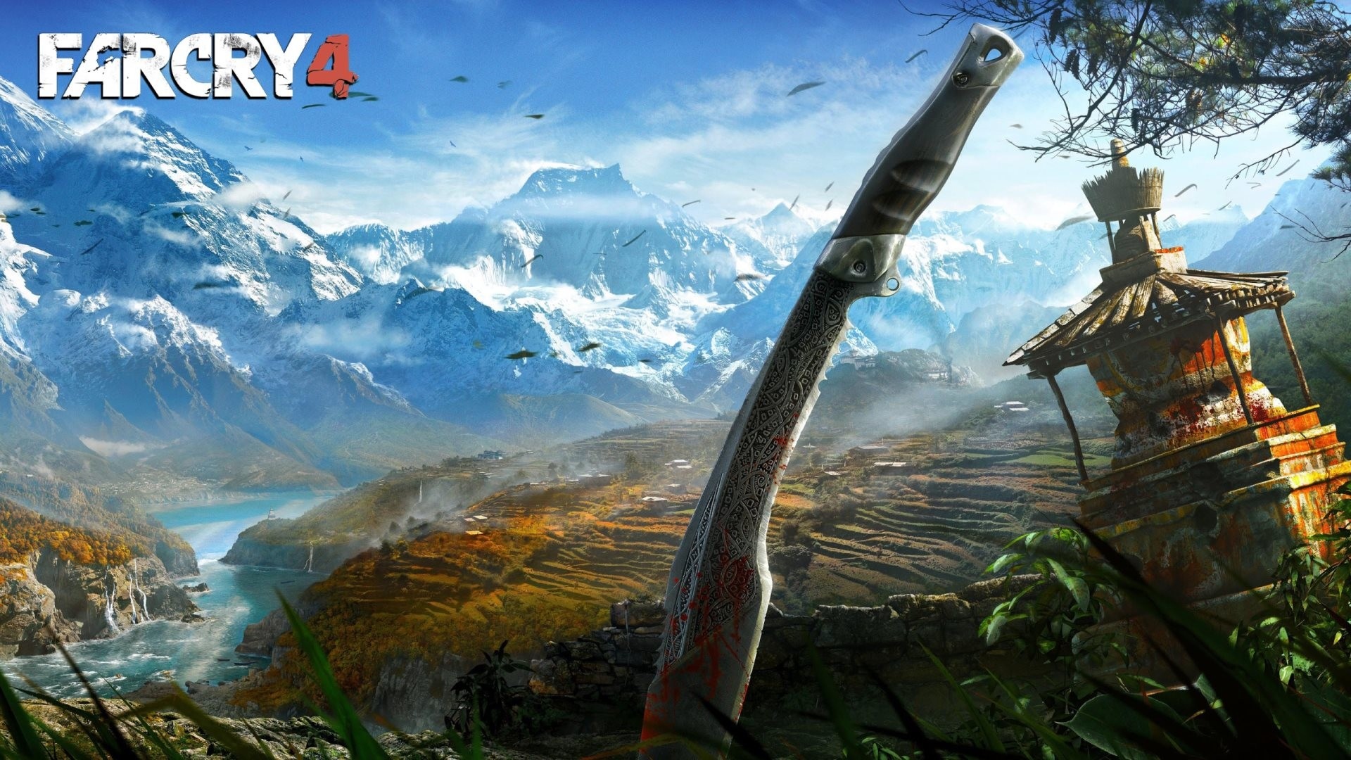The 2nd wallpaper from Far Cry 4 listed below and ready in HD and wide  sizes to be set on desktop backgrounds