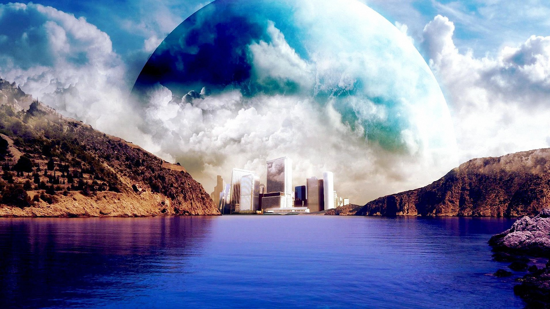 dream city planet hd wallpapers